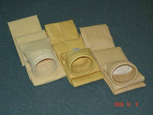 Dedusting filter bag used in cement plant