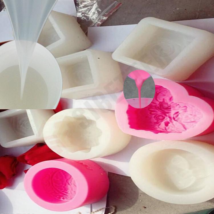 RTV2 Manual Model Design Liquid Silicone for Art Soap Mold Making