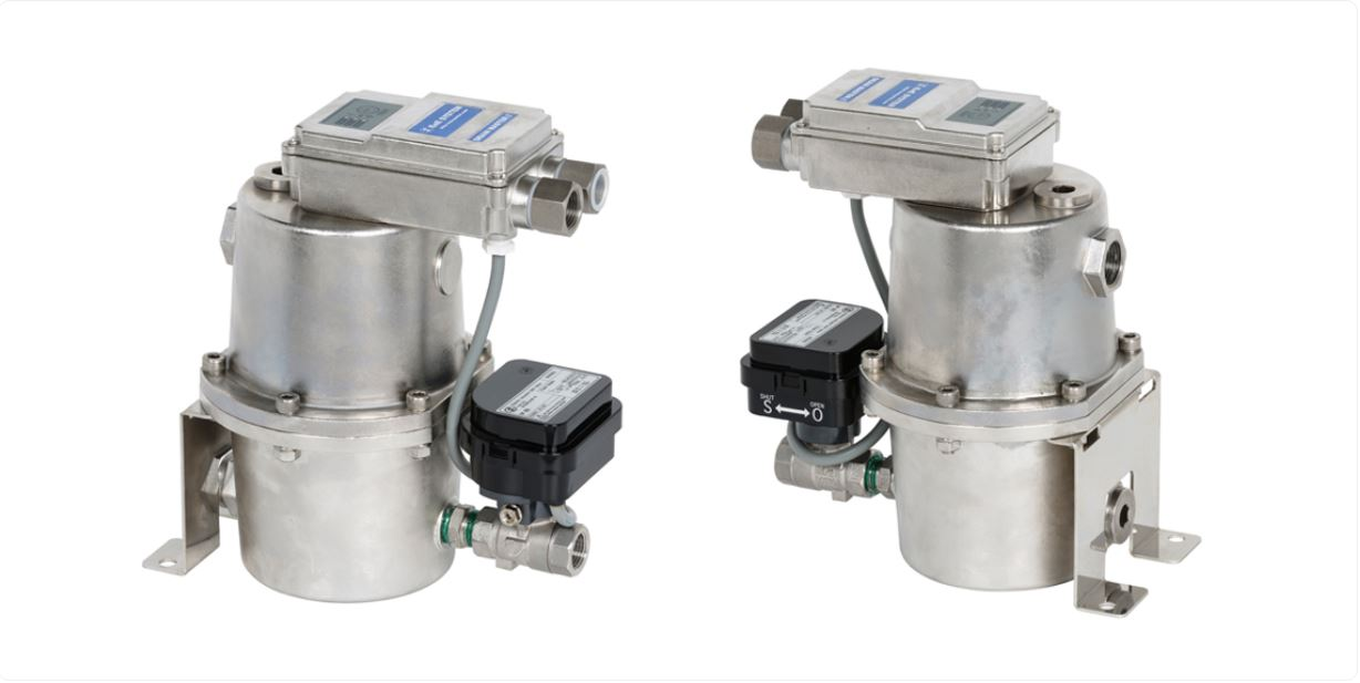 Drain master BS - Auto drain trap with a solenoid valve for high pressure (1.2~60bar)