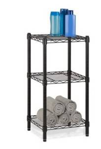 3 Layer Ajustable Steel Rack for Bathroom