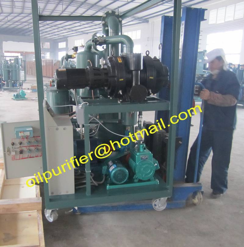 Double-Stage Vacuum Transformer Oil Purification &Insulation Oil Treatment Equipment