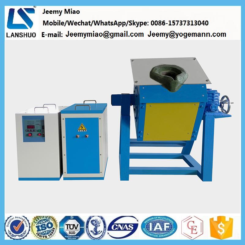Factory price induction melting furnace for gold/sliver/copper