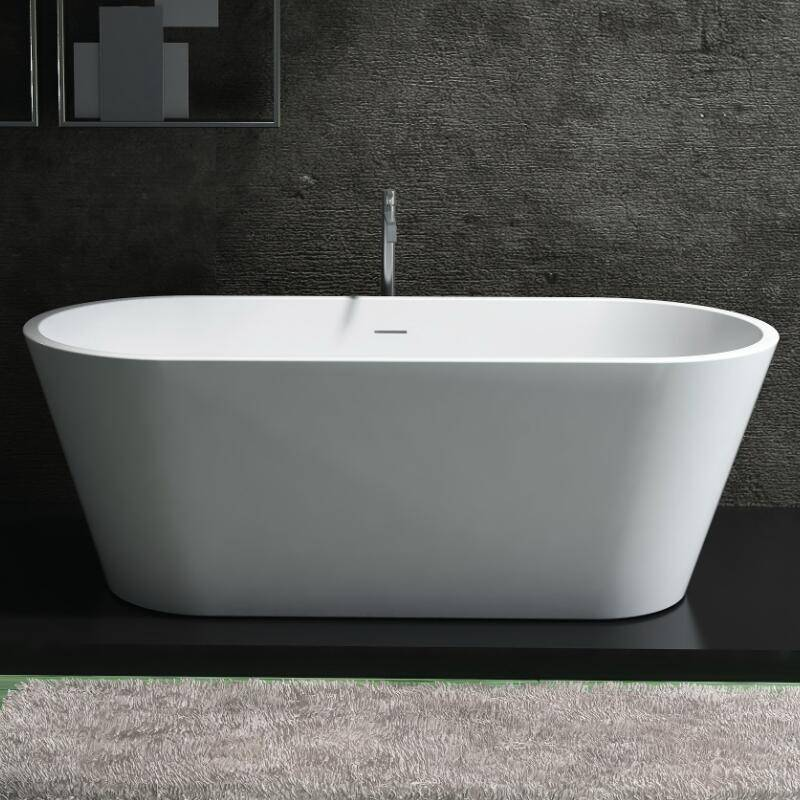 Artificial Stone Freestanding Bathtub with Cupc Approval (PB1012)