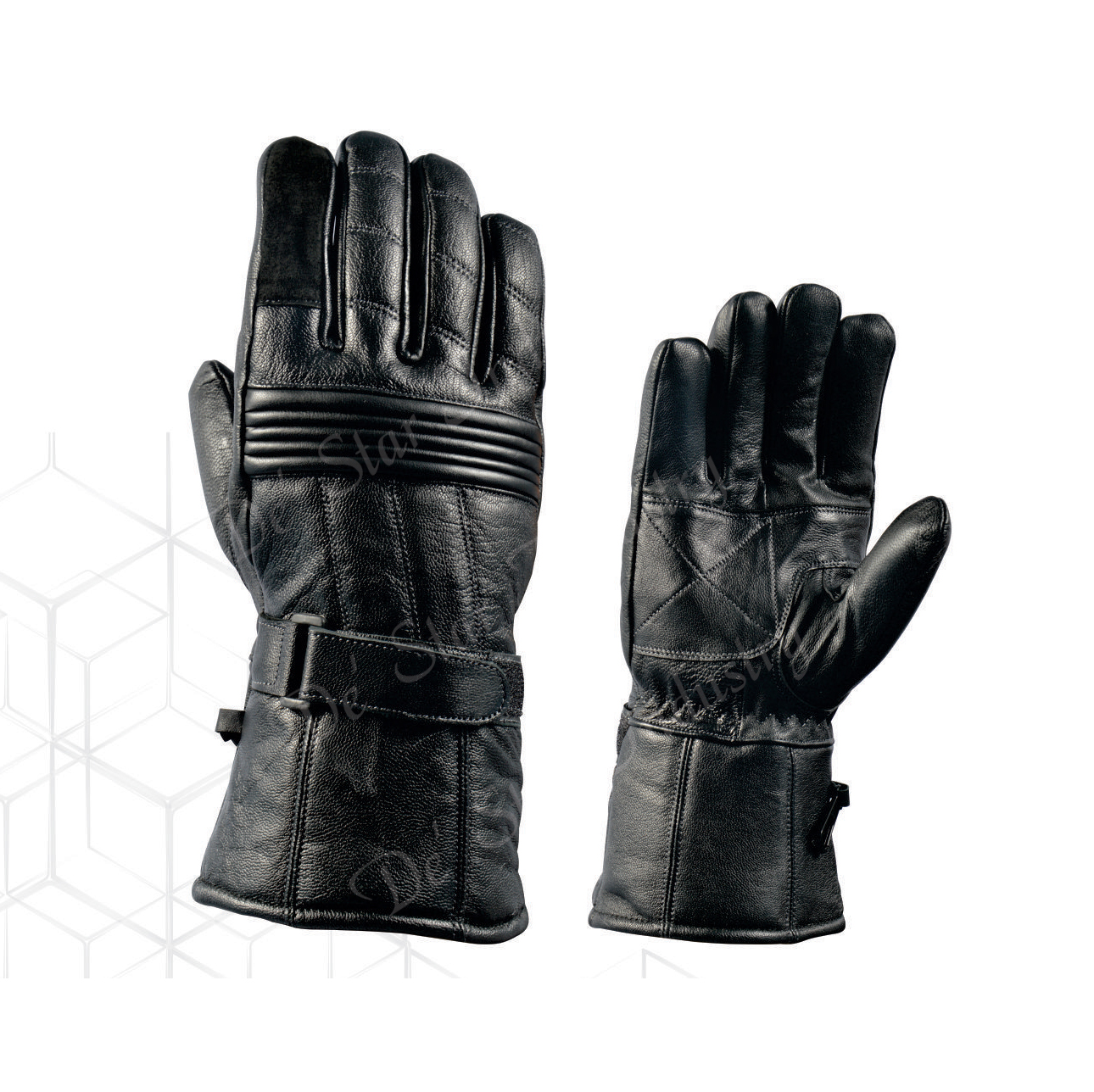DSI snow leather gloves