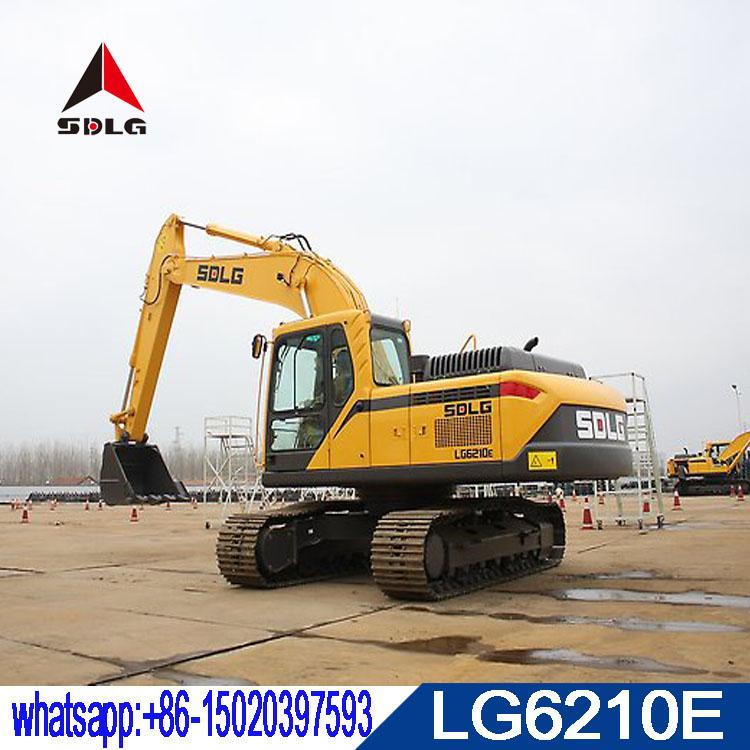 SDLG 21T hydraulic crawler hydraulic excavator LG6210E for sale,mew model E6210F 2018 made