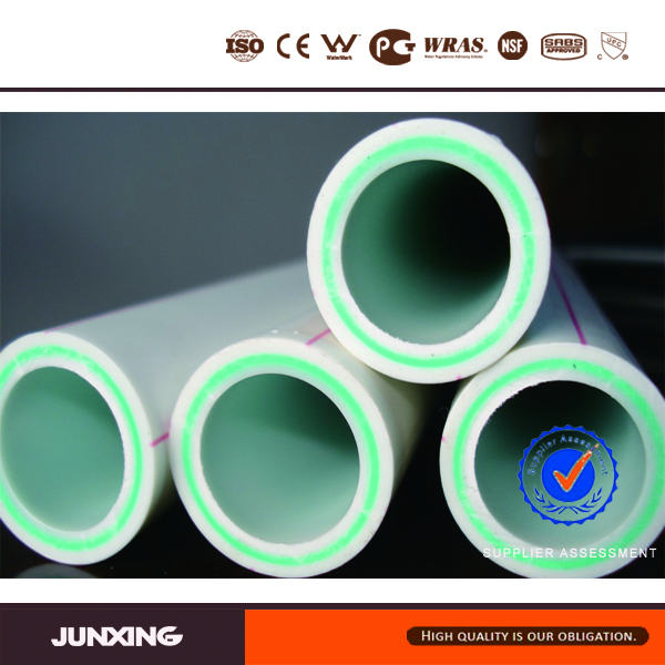 DIN 8077/8078, ISO15874 Standard PPR pipe with glass fiber