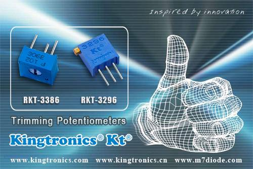 Kt Kingtronics Trimming Potentiometers Samples Stock