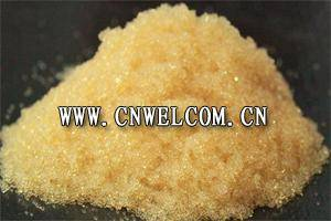 Exchange resin Cation