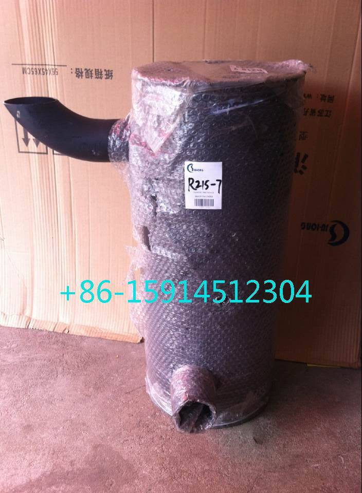 Hyundai R215-7 muffler with clamp 21EN-32200