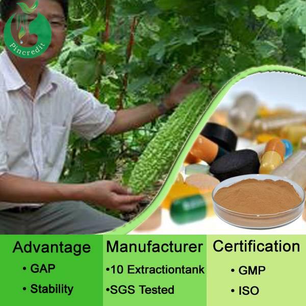 Natural bitter melon extract powder,  10% Charantin