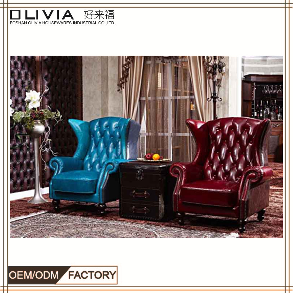 Classical Style Pu Leather 5 Seater Cheap Price Sleeper Sofa