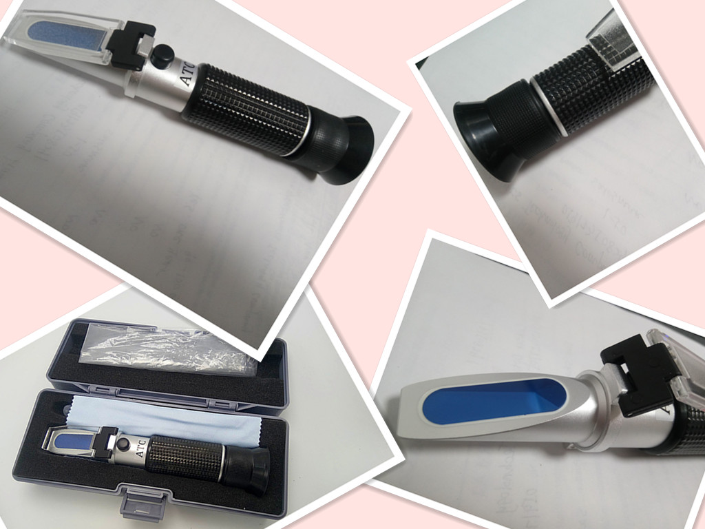 optical refractometer sugar 0-32% with ATC