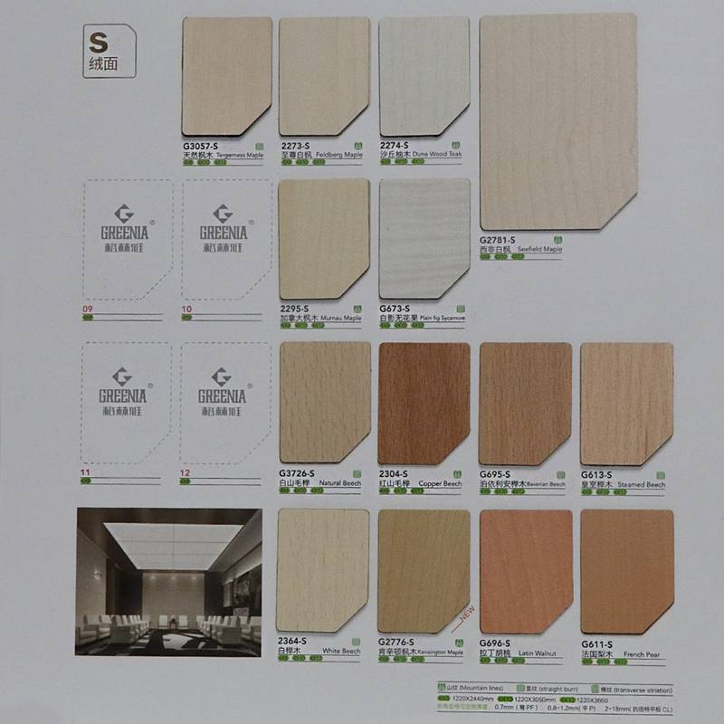 Greenia lamination sheet colours /kitchen laminate sheets
