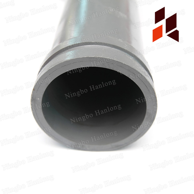 double-wall induction hardening straight pipe
