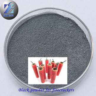 Black flaky aluminum powder for fireworks firecrackers