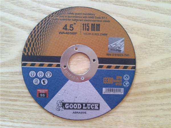 Cutting discs for stainless steel