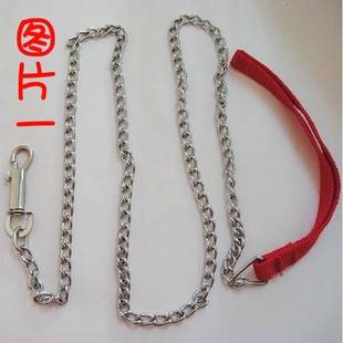 Galvanized dog chain with nylon