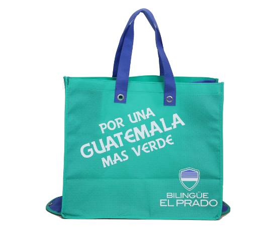Reusable foldable non woven shopping bag for promotion
