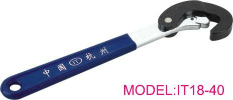 Multipurpose self-locking spanner