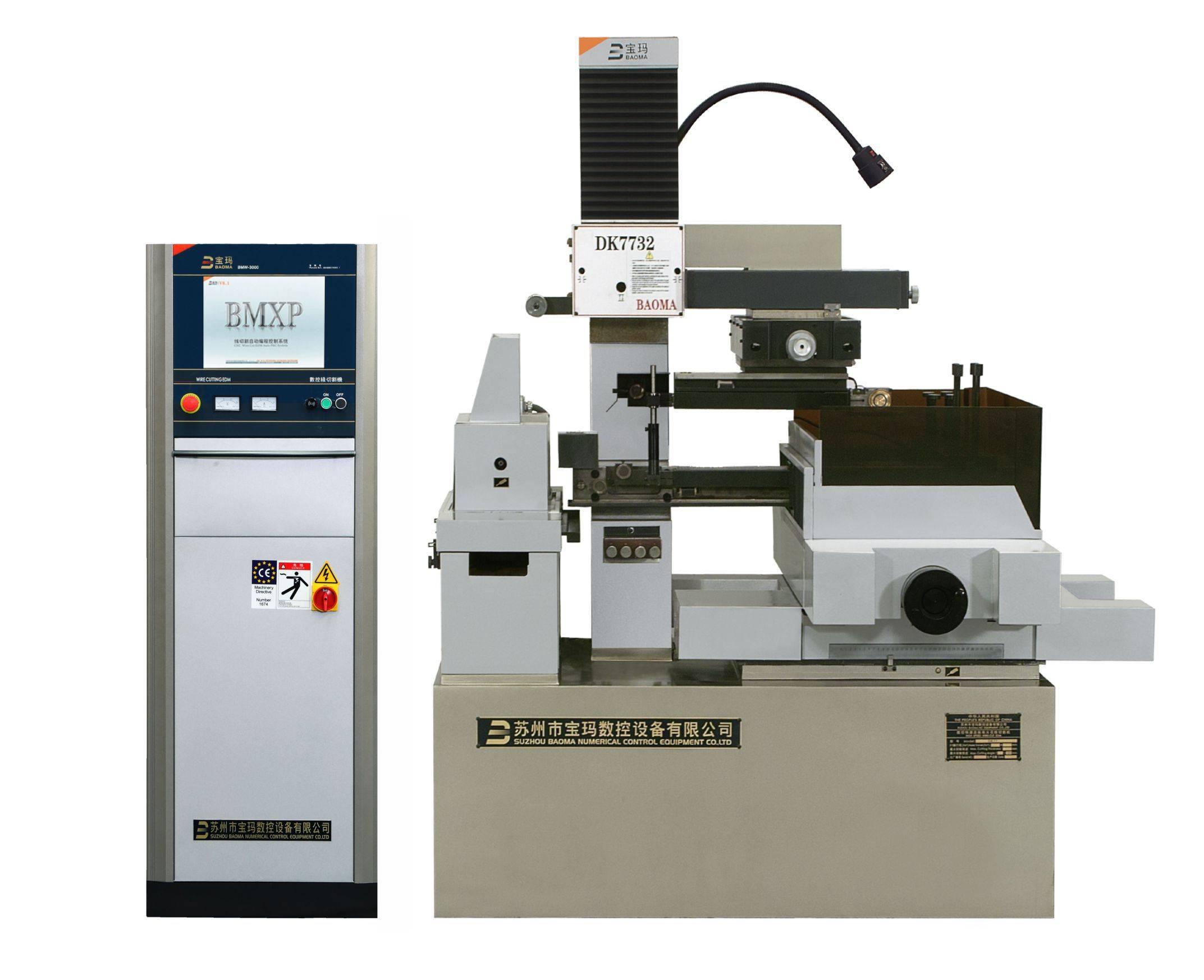 EDM CNC taper cut wire cutting machine DK7732D