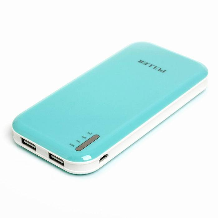 PULLER POWER BANKL dual outputs 8000mAh portable phone charger