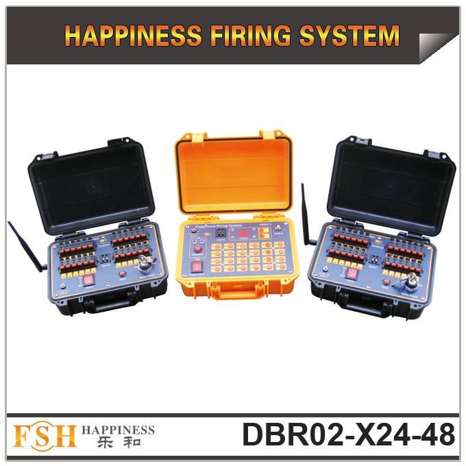 48 channels Wireless Remote Control Fireworks Firing System (DBR02-X24/48)