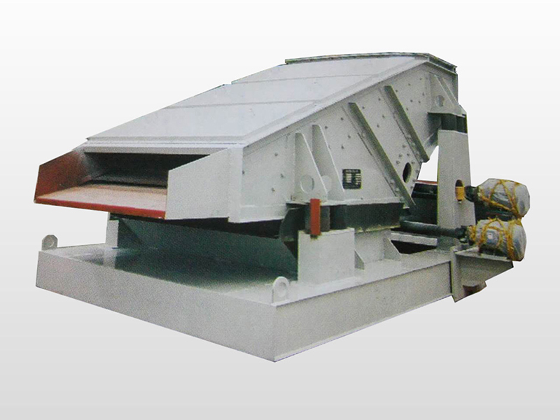 Low price Mobile coke linear vibrating screen for sale