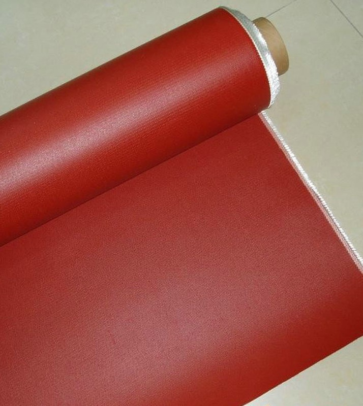 Silicone coated fiberglass fabric Fire resistant