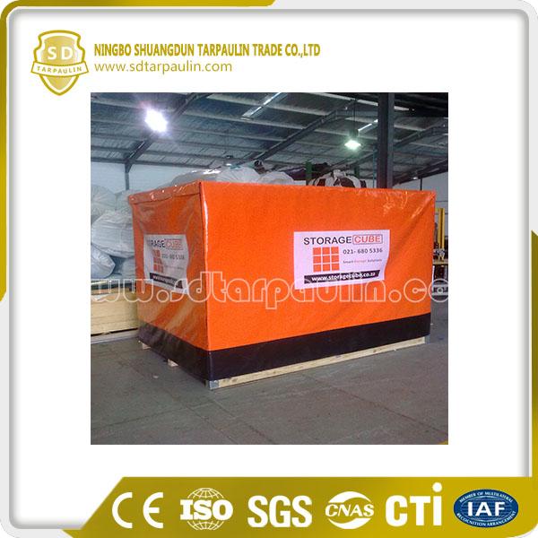 UV Resistant Waterproof Pallet Cover Tarp PVC Tarp