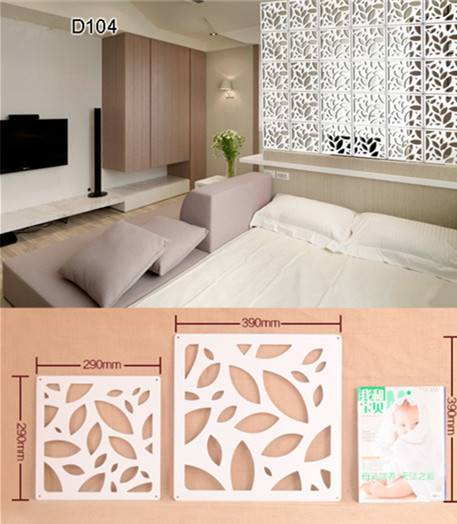 Room Divider for Hotel or House Screen Divider Partition