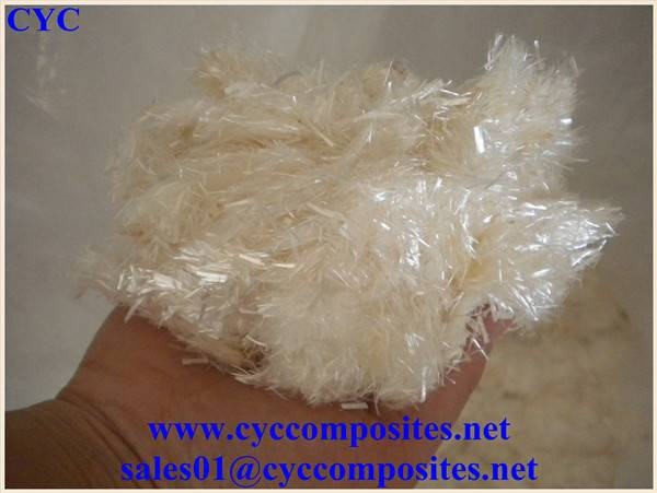 Silica Chopped fiber for Auto Exhaust Pipe