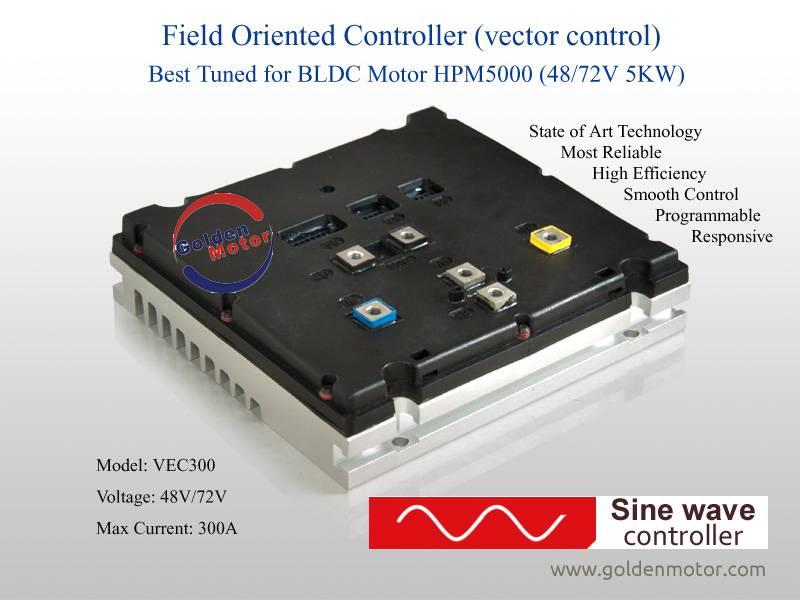 Vec controller for 5KW bldc motor