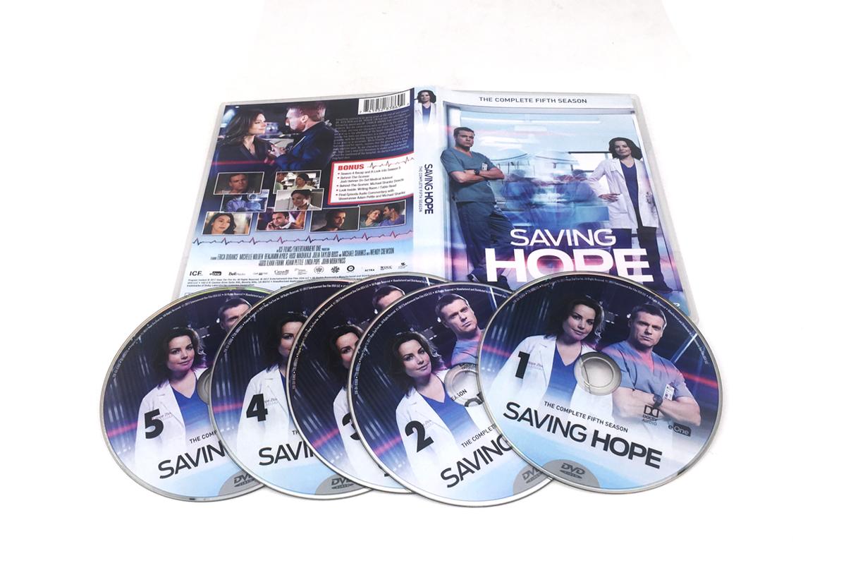 Saving Hope season 5 dvd boxsets