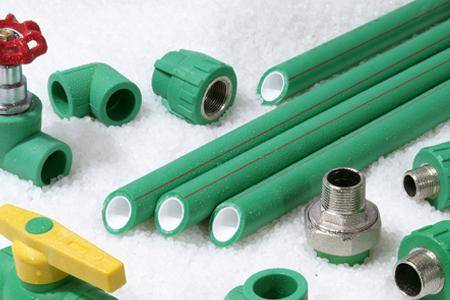 NF-PPR fiber glass reinforced anti-bacterial pipe