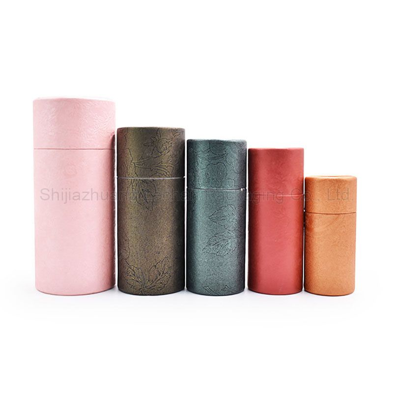 High Quality Craft Material Brown Pink Red Paper Tubes