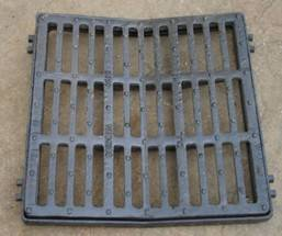 square anti-slip rectangular ductile iron gully grate