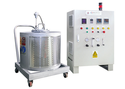 DME magnesium alloy experimental furnace