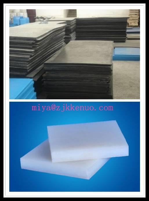 Wear resistance UHMW-PE Sheet  White UHMW-PE Sheet 30mm thickness