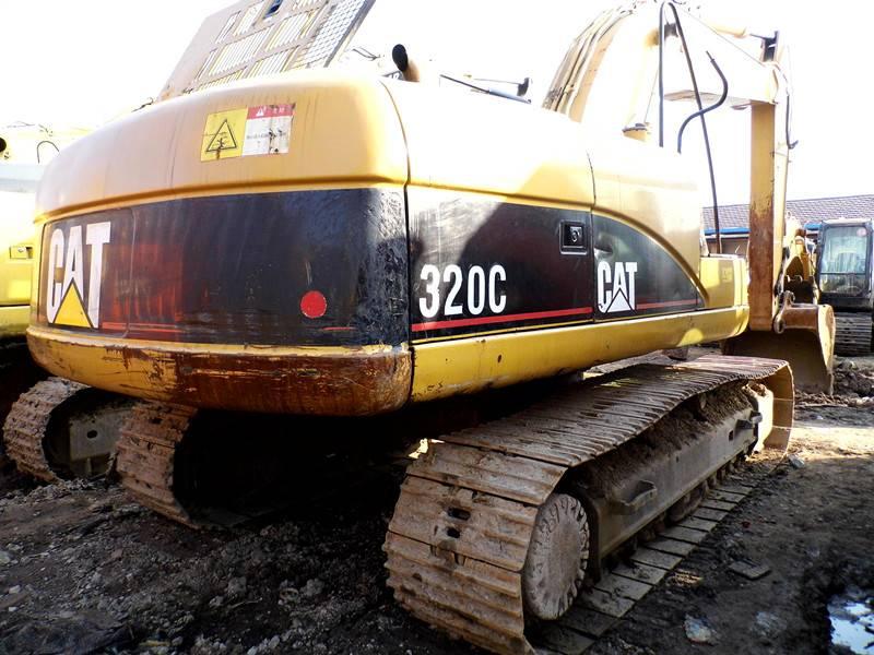 used CAT320C excavator