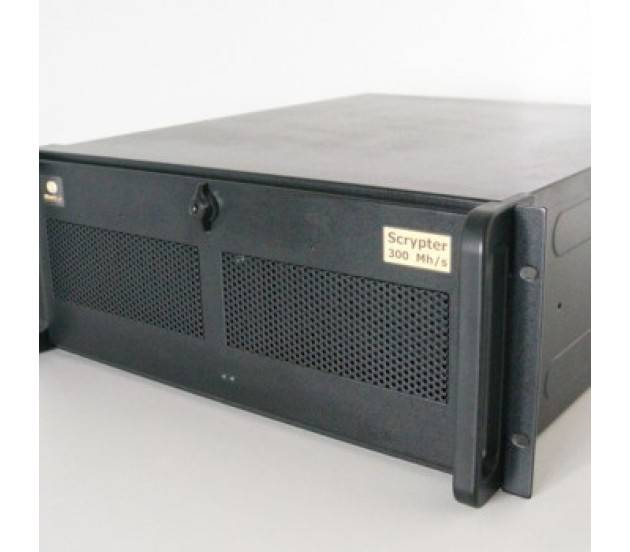 Litecoin Scrypter 300MH/s Rack Mount