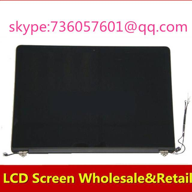 For Macbook Pro  Retina A1398 LCD Assembly Display Screen Assembly ME293 ME294  Late 2013 Mid 2014