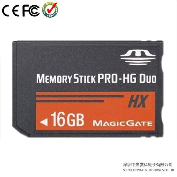 Winfos,OEM Real Capacity Memory Stick/Ms PRO-HG Duo, Magic Gate, MSPD for PSP and Sony, 32GB Storage