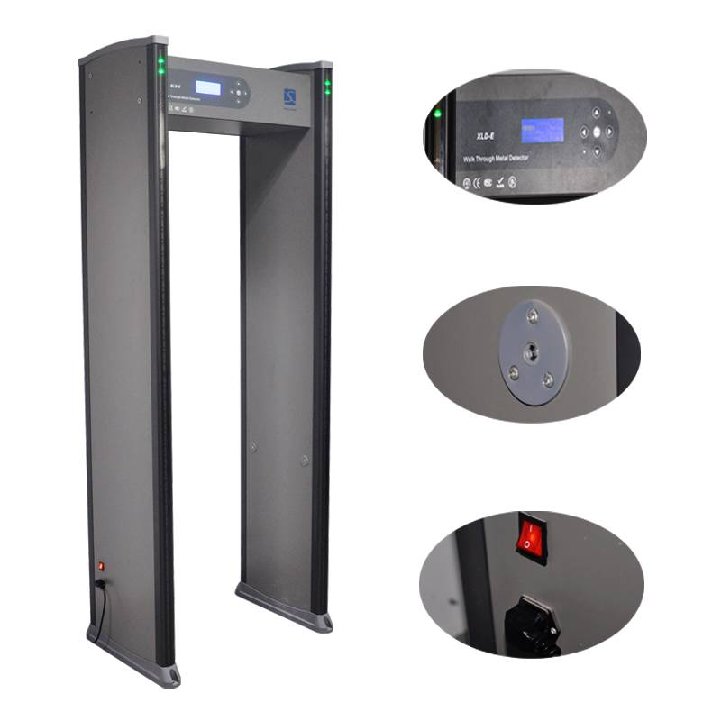 18 zones 255 sensitivity adjustable Walk through metal detector