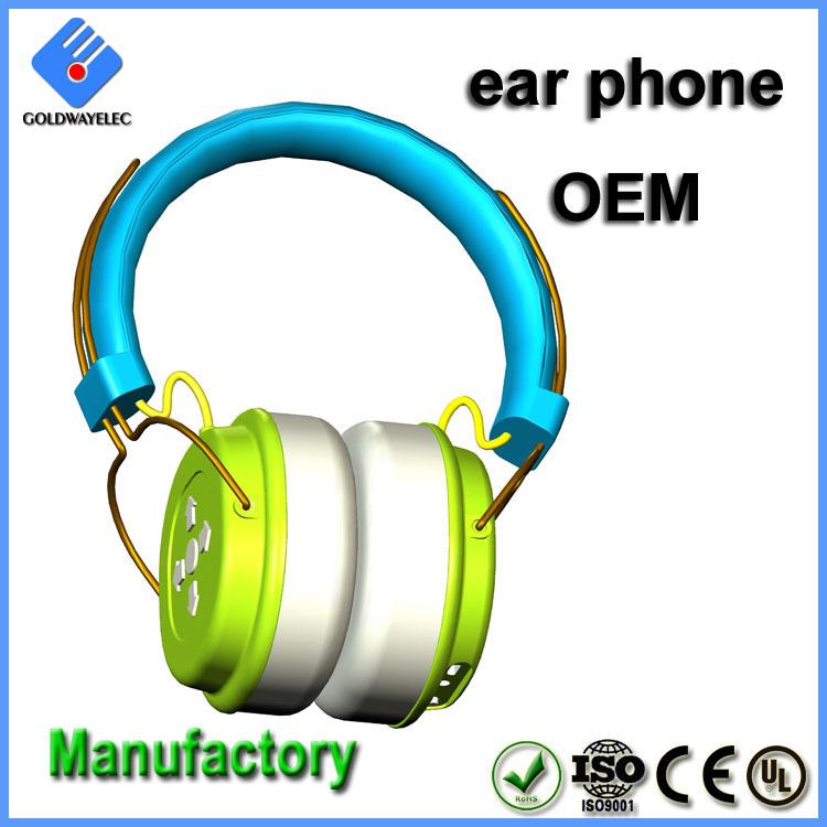 Color Logo Customized Adjustable Headband Sound Proof Earmuff
