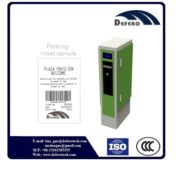 Automated parking system large capacity entry ticket dispenser