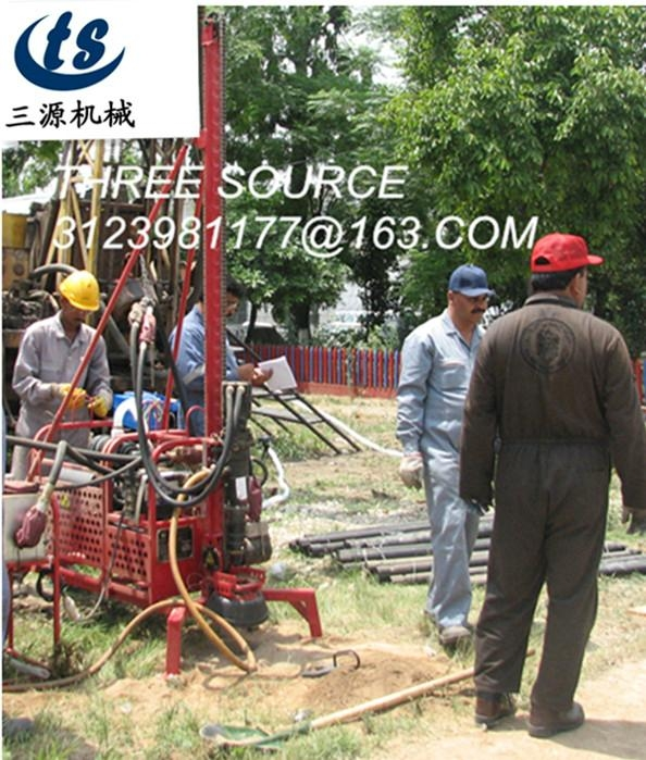 man portable offshore oil drilling rig