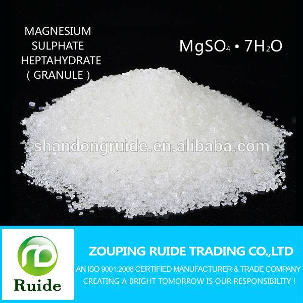 Agriculture Grade/Industrial Grade Magnesium Sulphate 99.5%