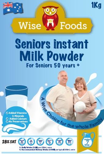 Seniors Milk