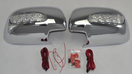 LED Chrome Mirror Covers for Lexus RX330