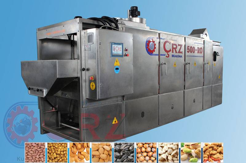 CRZ-500RO NUT ROASTING MACHINE